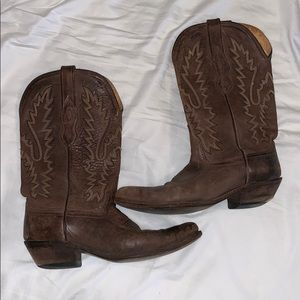 Old west cowboy boots 8